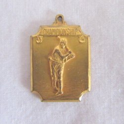 Draper and Maynard (D&M) Gold Baseball Championship Medal