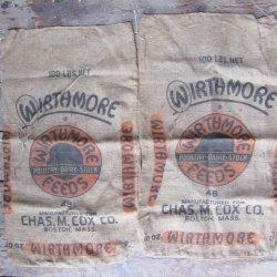 Wirthmore Boston Burlap Grain Feed Sacks