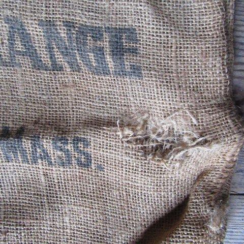 Image 3 of Burlap Grain Feed Sacks Vintage
