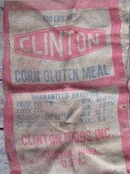'.Clinto Burlap Grain bag.'