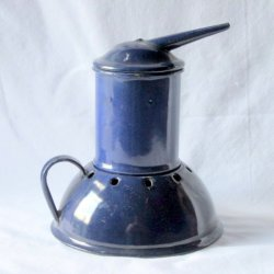 Medical Steam Vaporizer Humidifier Enamelware Vintage