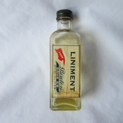 Pineoleum Liniment Pharmacy Apothecary Vintage Bottle