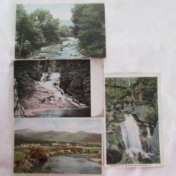 White Mountains, NH Postcard Collection from 1900s