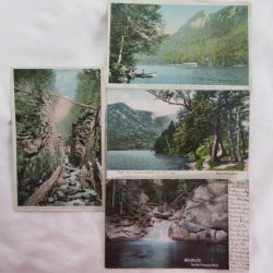 Franconia Notch White Mts. NH Postcard Collection 1900s