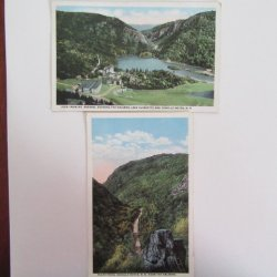 Dixville Notch  Pulpit Rock  The Balsams Resort  NH Postcards 1900s