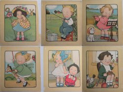 Grace Wiederseim's Mother Goose Nursery Rhyme Kids Large Prints