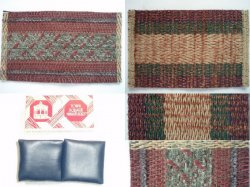 Dollhouse Miniature Home Decor Accessory Lot: Rugs and Pillows