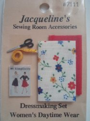'.Dollhouse Dressmaking Set .'