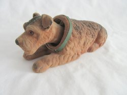 '.Airedale Bobblehead Dog.'
