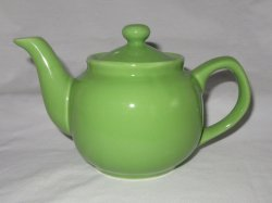 Teapot Old Amsterdam Porcelain Ware Mojito Lime Green