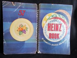 The Heinz Book of Quantity Recipes & Menus 1940 PB Cookbook