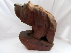 '.Redwood Chainsaw carved Bear.'
