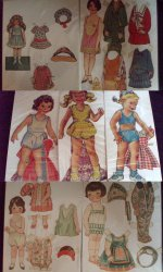 Vintage Paper Doll Collection 3 Sets
