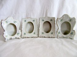 '.Porcelain Photo Frames.'