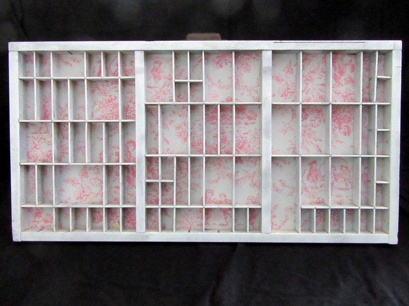 Printers Tray Shadow Box