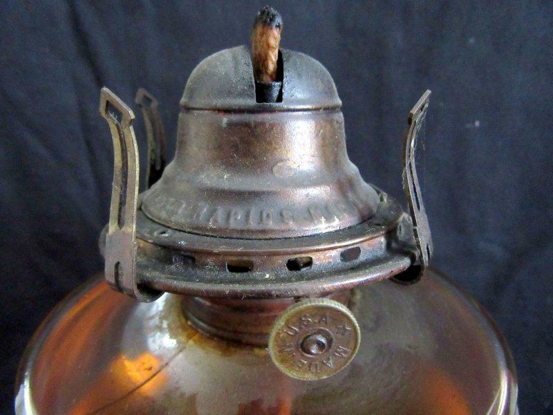 Oil Lamp White Flame Burner