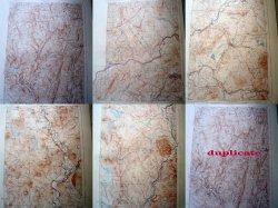 5 Vermont Vintage US Dept of Interior Geological Topographic Survey Maps