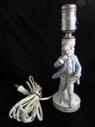 '.Lamp Boudoir Victorian Man.'
