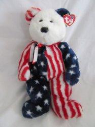 '.Ty American Teddy Beanie.'