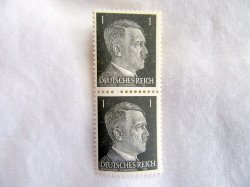 1944 Hitler Stamps Germany WWII Set of 2