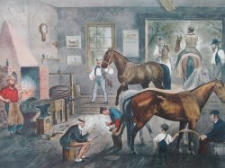 '.Currier and Ives Horses.'