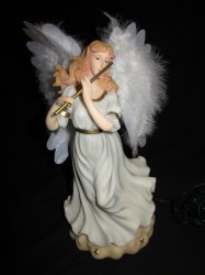 '.Musical Flutist Angel.'