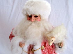 '.Old World Santa Figurine 17 IN.'