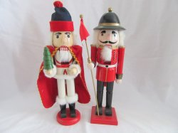 Christmas Decor Holiday Wood Nutcrackers 15 Inch
