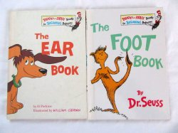 The Foot Book and The Ear Book by Dr. Seuss