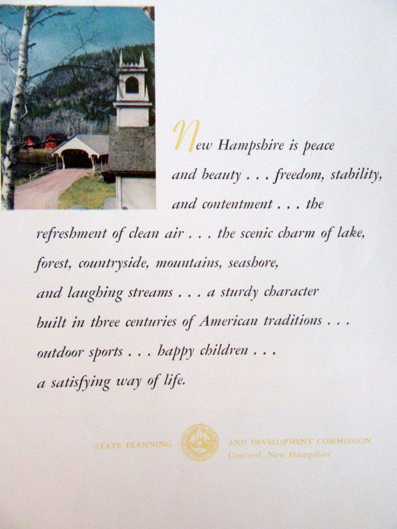 Image 5 of This is New Hampshire 1945 Photographic Tourism Promo Magazine