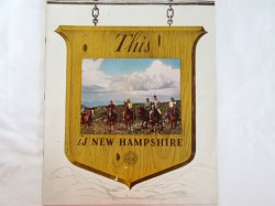 This is New Hampshire 1945 Photographic Tourism Promo Magazine