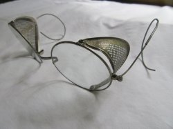 Antique Round Safety Glasses Goggles
