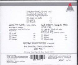 '.Tartini Cello Concertos CD.'