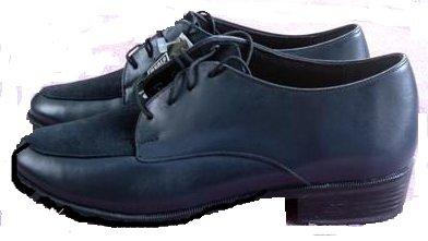 Munro Dress Oxford Shoe Womens 7 M Navy Leather