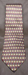 '.Mens Silk Necktie Burgundy.'