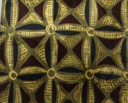 Robert Talbott Studio Mens Silk Tie Necktie Burgundy Gold