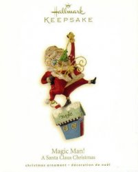Hallmark Keepsake Ornament A Santa Claus Christmas Magic Man