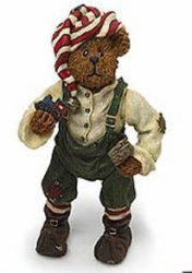 Alvin Elfbeary Bearstones Shoe Box Bears Boyds Bears