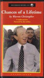 Chances of a Lifetime Warren Christopher Unabridged Audio Book