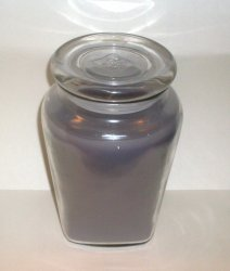 Home Interiors Lavender Jar Candle 22 ounce Retired