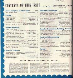 '.LHJ November 1939 Contents .'