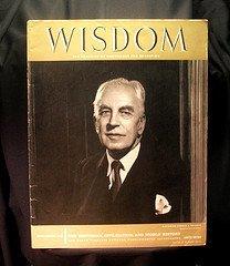 1958 Wisdom Magazine Volume 3 No 27 Arnold J. Toynbee