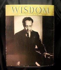 '.Wisdom 1957 Artur Rubinstein.'