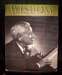 '.Wisdom 1958 Will Durant.'