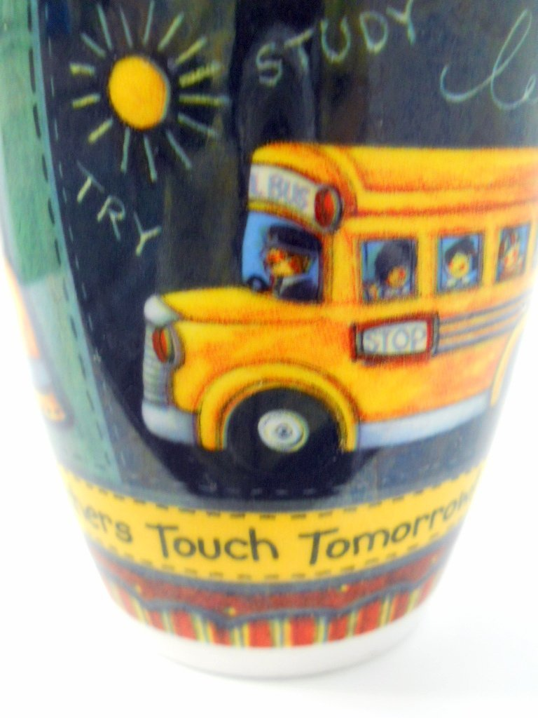 Teachers Touch Tomorrow Designer Gift Mug