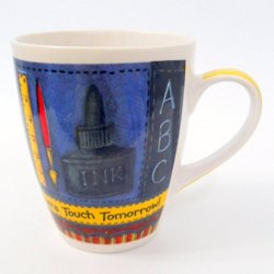 '.Teachers Designer Coffee Cup.'