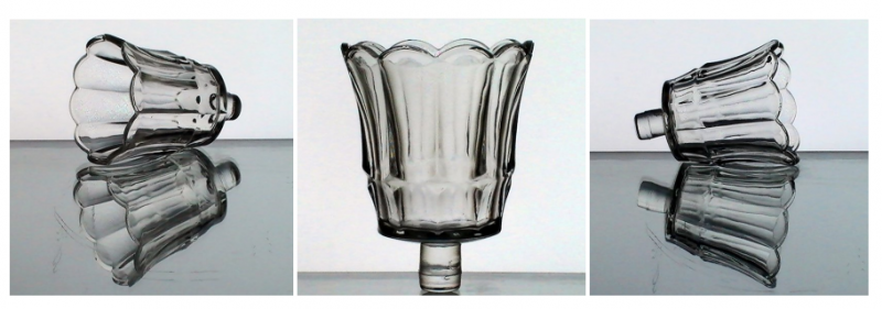 Home Interiors Peg Votive Candle Holder Clear Starlight 11901BD