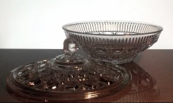 '.Candy Dish Federal Glass.'