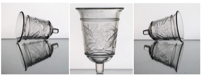Home Interiors Peg Votive Candle Holder Magnolia Bell