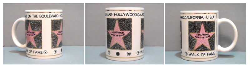 Coffee Mug Hollywood Walk of Fame Souvenir 12 Oz